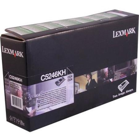 Lexmark C5246KH Original Black High Yield Return Program Laser Toner Cartridge
