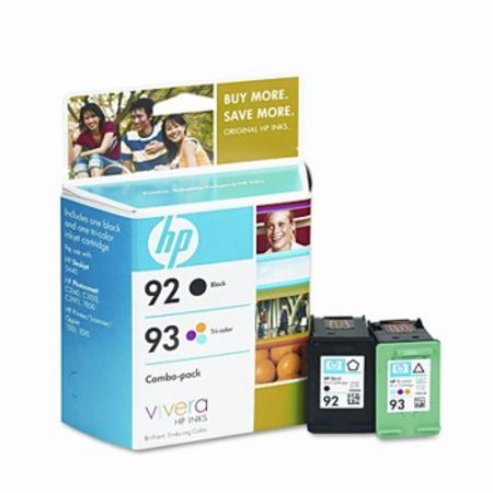HP 92/93 (C9513FN) Original Black And Tri-Color Ink Cartridges