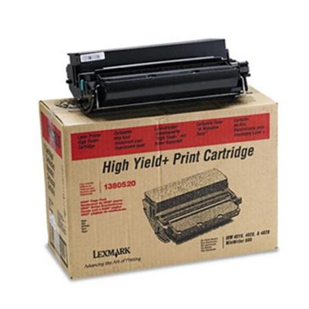Lexmark 1380520 Original Black High Yield Toner Cartridge