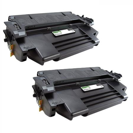 74A Black Remanufactured Toner Cartridges Twin Pack