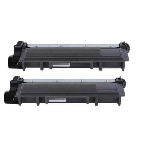 Compatible Twin Pack Black Dell 593-BBKD Toner Cartridges