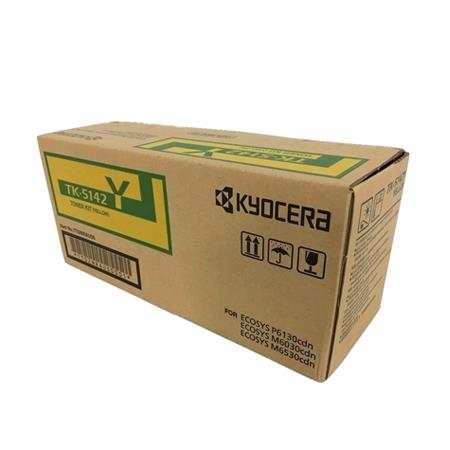 Kyocera TK-5142Y Original Yellow Laser Toner Cartridge