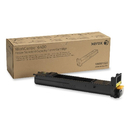 Xerox 106R01322 Yellow Original Toner Cartridge