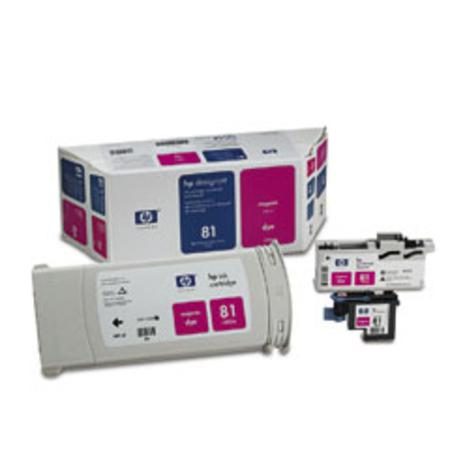 HP 81 Original Magenta Dye Value Pack (C4992A)