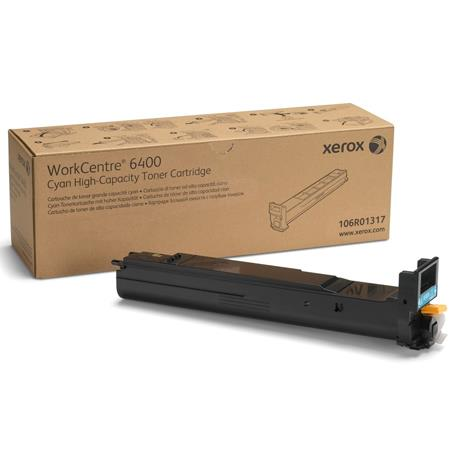 Xerox 106R01317 Cyan Original High Capacity Toner Cartridge