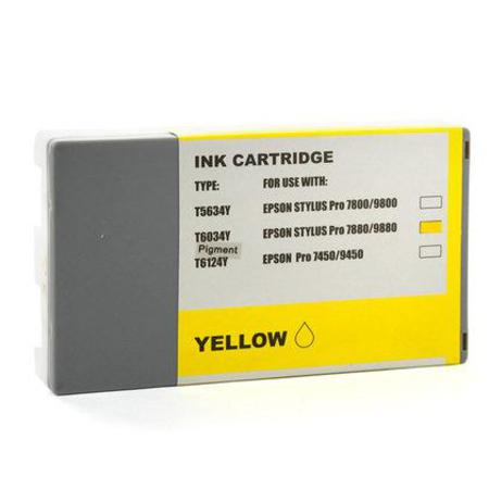Compatible Yellow Epson T6034 Ink Cartridge (Replaces Epson T603400)