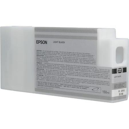 Epson T8347 (T834700) Light Black Original UltraChrome HDX Ink Cartridge (150 ml)