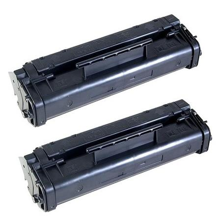 Clickinks 06A Black Remanufactured Toner Cartridges Twin Pack