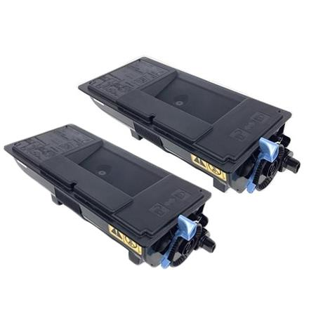Clickinks TK-3192K Black Remanufactured Toners Twin Pack