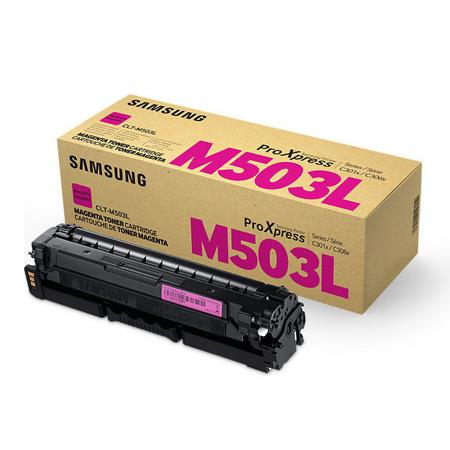 Samsung CLT-M503L Magenta Original High Capacity Toner Cartridge
