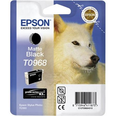 Epson T0968 (T096820) Original Matte Black Ink Cartridge
