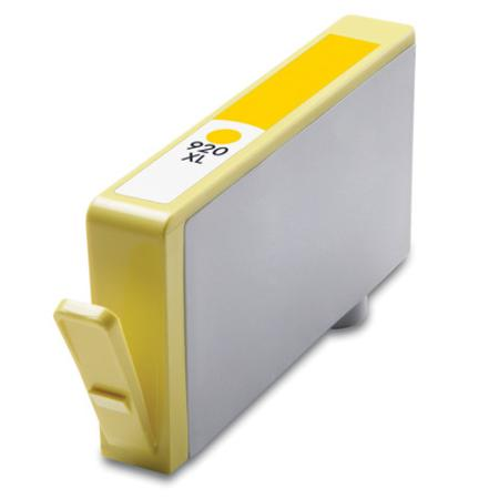 HP 920XL Remanufactured Yellow High Yield Officejet Ink Cartridge