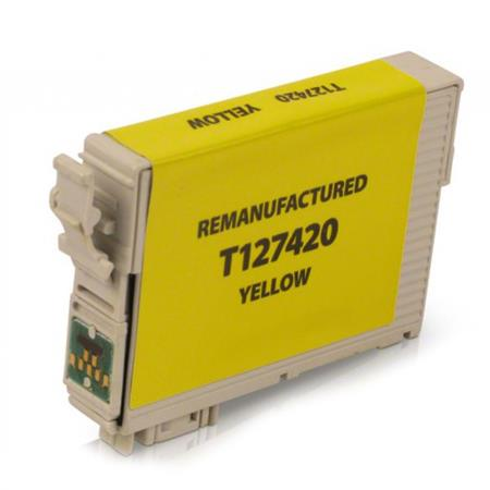 Compatible Yellow Epson 127 Ink Cartridge (Replaces Epson T127420)