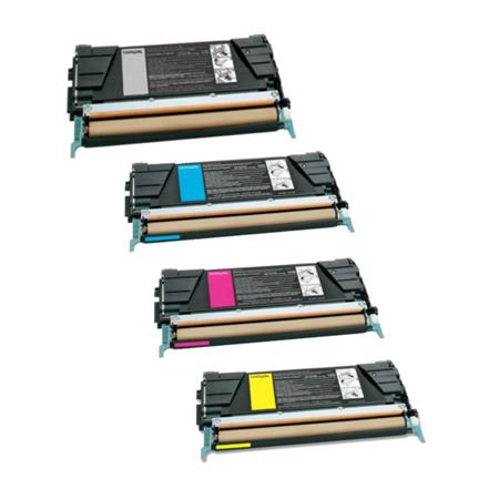 Clickinks C736H1KG/CG/MG/YG Full Set Remanufactured High Capacity Toners