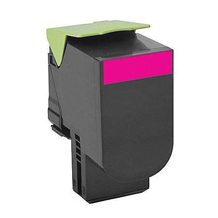 Compatible Magenta Lexmark 80C1XM0 Extra High Yield Toner Cartridge