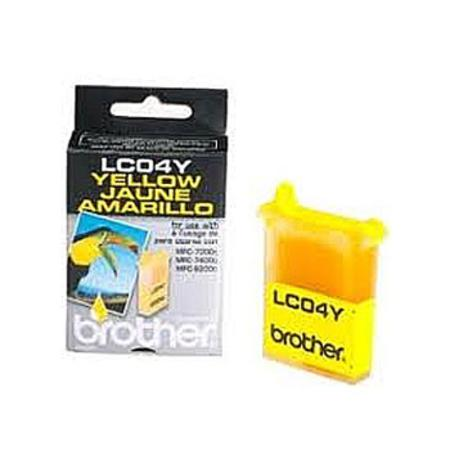 Brother LC04Y Yellow Original Print Cartridge