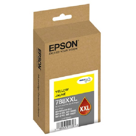 Epson 788XXL Yellow Original High-Capacity Ink Cartridge