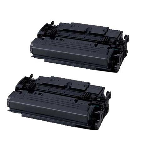 Compatible Twin Pack Black Canon 041HBK High Yield Toner Cartridges