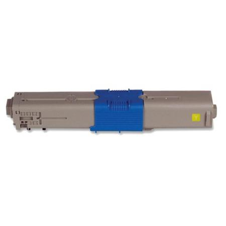 Compatible Yellow Oki 44469701 Standard Yield Toner Cartridge