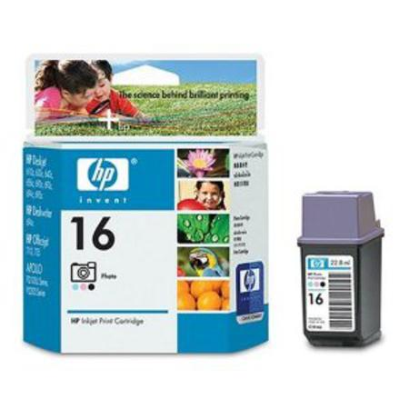 HP 16 Photo Original Inkjet Print Cartridge (C1816A)