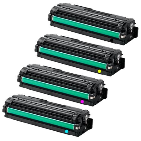 Clickinks CLT-K504S Full Set Remanufactured Toner Cartridges