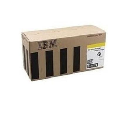 IBM 75P4054 Yellow Original Return Program Laser Toner Cartridge