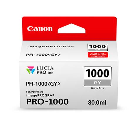 Canon PFI-1000GY Grey Original Ink Cartridge (0552C001)