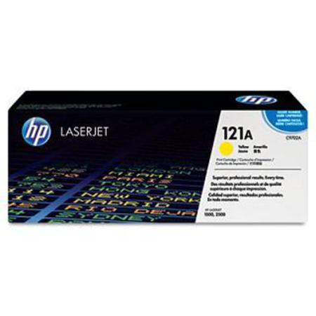 HP Color LaserJet 121A (C9702A) Yellow Original Print Cartridge with Smart Printing Technology