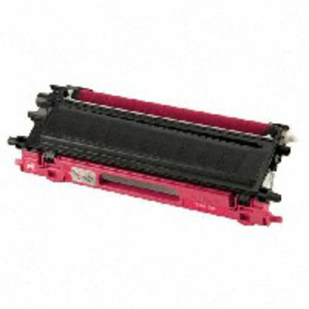 Brother TN115M Remanufactured Magenta Laser Toner Cartridge