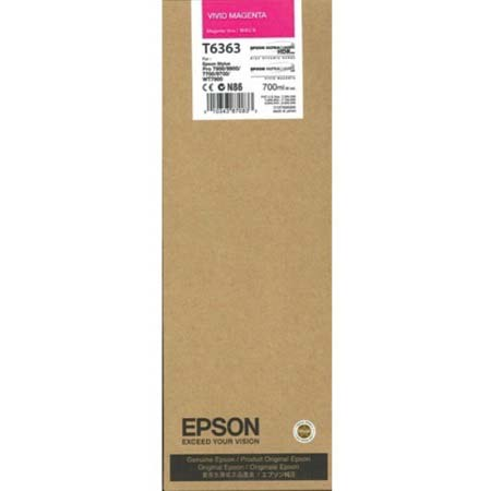 Epson T6363 (T636300) Original  Magenta Ink Cartridge