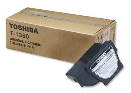 Toshiba T-1350 Black Original Toner Cartridge