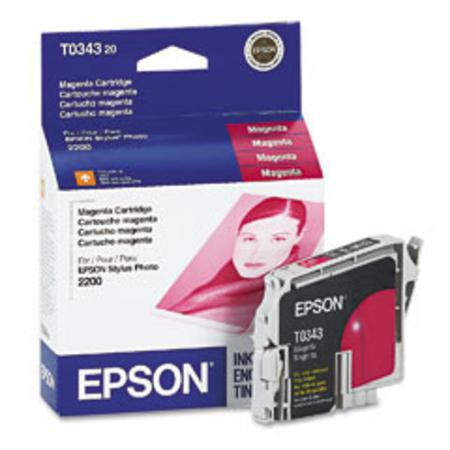 Epson T0343 (T034320) Original Magenta Ink Cartridge