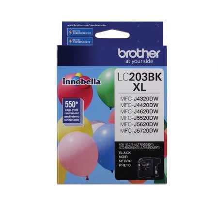 Brother LC203BK Original Black High Capacity Ink Cartridge