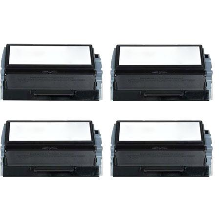 Clickinks 310-3543 Black Remanufactured High Capacity Toners Quad Pack