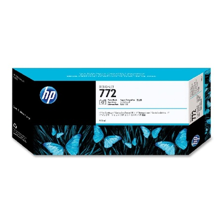 HP 772 Photo Black Original Ink Cartridge (CN633A)