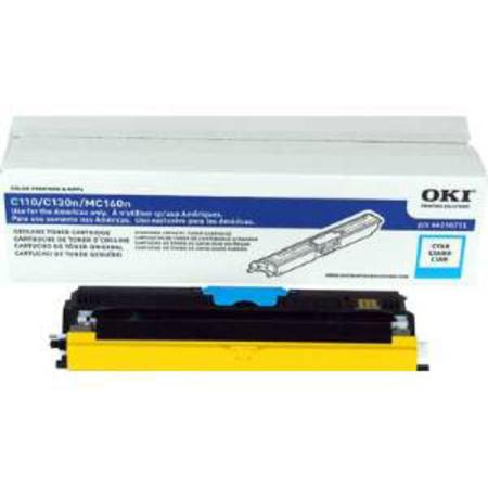 OKI 44250711 Cyan Original Standard CapacityToner Cartridges