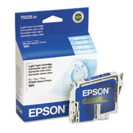 Epson T0335 (T033520) Original Light Cyan Ink Cartridge