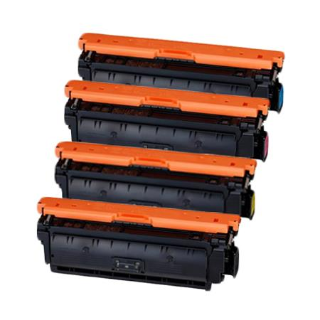 Clickinks 040HBK Full Set Remanufactured High Capacity Toner Cartridges