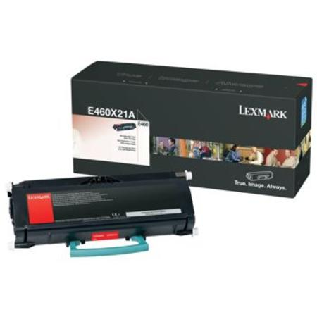 Lexmark E460X21A Black Original Extra High-Yield Toner Cartridge
