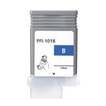 Compatible Blue Canon PFI-101B Ink Cartridge (Replaces Canon 0891B001AA)