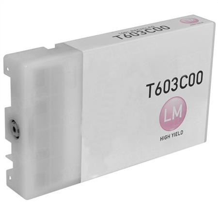 Compatible Light Magenta Epson T603C Ink Cartridge (Replaces Epson T603C00)