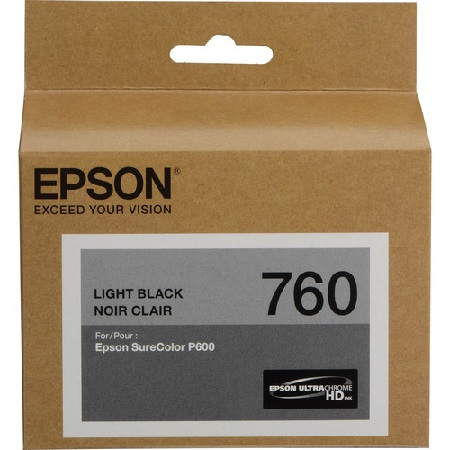 Epson T7607 (T760720) Light Black Original Ink Cartridge