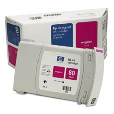 HP 80 Original Magenta Ink Cartridge (C4847A)