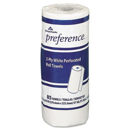 preference Perforated Paper Towel Roll  8-4/5 x 11  White  85/Roll  30/Carton