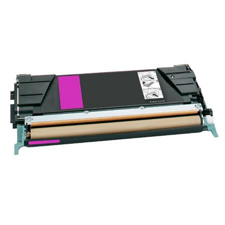 Lexmark C748H1MG Magenta Remanufactured High Capacity Toner Cartridge