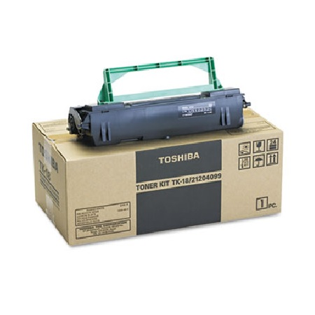 Toshiba TK-18 Black Original Toner Cartridge