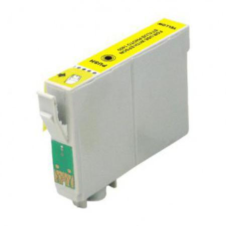 Epson T0554 (T055420) Yellow Remanufactured Ink Cartridge (High Capacity)