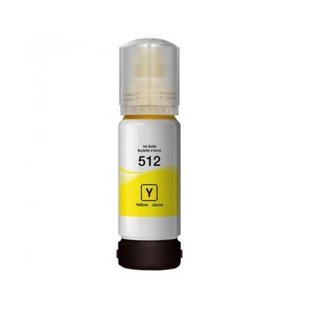 Epson T512 (T512420) Yellow Remanufactured Ink Bottle