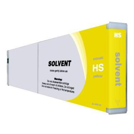 Compatible Yellow Mimaki HSY Hard-Solvent Ink Cartridge