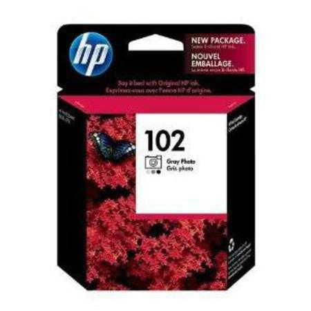 HP 102 Gray Photo Original Inkjet Print Cartridge (C9360AN)